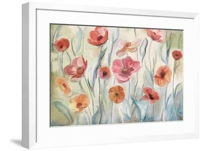Anemone Poppies-Art Licensing Studio-Framed Giclee Print