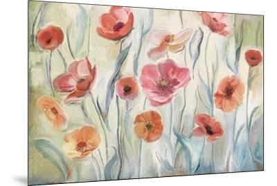 Anemone Poppies-Art Licensing Studio-Mounted Giclee Print