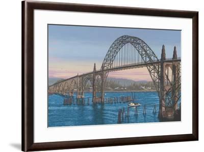 Yaquina Dusk-Palmer Artworks-Framed Giclee Print