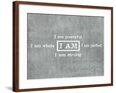 I Am Prayer-ALI Chris-Framed Giclee Print