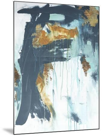 Gilded Abstract-Ann Tygett Jones Studio-Mounted Giclee Print