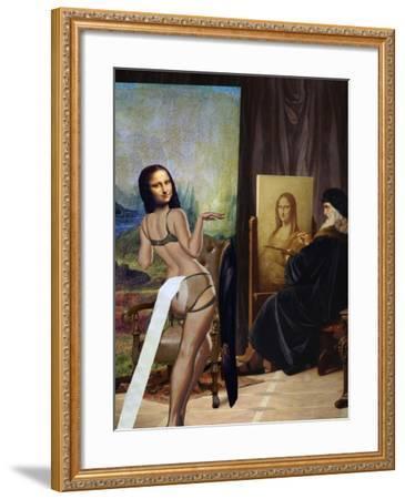 Took You Long Enough-Aberrant Art-Framed Giclee Print
