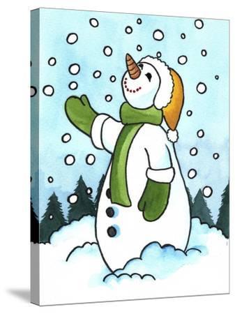 Snowman 3 Giclee Print by Abraal | Art com