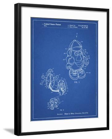 PP123- Blueprint Mr. Potato Head Patent Poster-Cole Borders-Framed Giclee Print