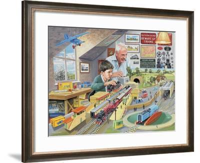 Grandad's Attic-Trevor Mitchell-Framed Giclee Print