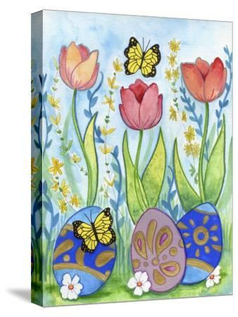 Egg Hunt-Valarie Wade-Stretched Canvas Print