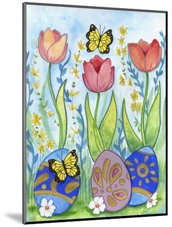Egg Hunt-Valarie Wade-Mounted Giclee Print