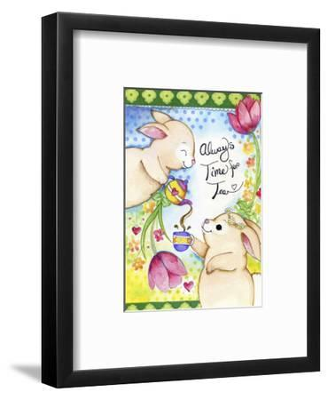 Time for Tea-Valarie Wade-Framed Giclee Print
