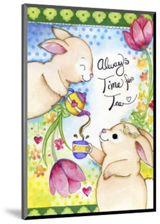 Time for Tea-Valarie Wade-Mounted Giclee Print