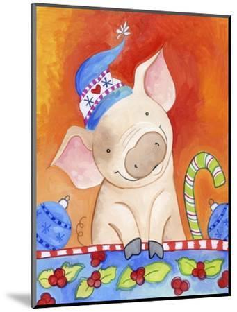 Christmas Piggie-Valarie Wade-Mounted Premium Giclee Print