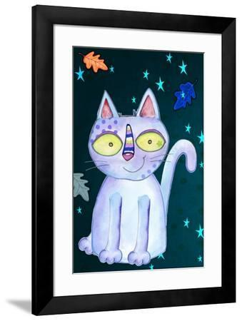 Autumn Cat-Valarie Wade-Framed Giclee Print