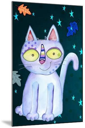 Autumn Cat-Valarie Wade-Mounted Giclee Print