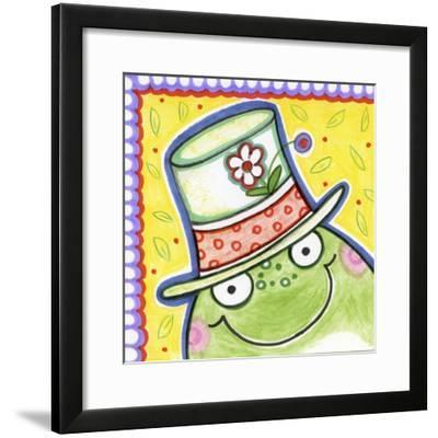 Frog Face-Valarie Wade-Framed Giclee Print