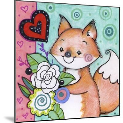Flowers For Fox-Valarie Wade-Mounted Giclee Print