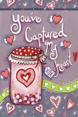 Captured Heart-Valarie Wade-Stretched Canvas Print