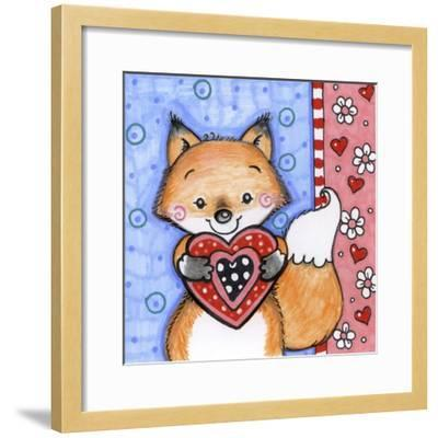 Foxy-Valarie Wade-Framed Giclee Print