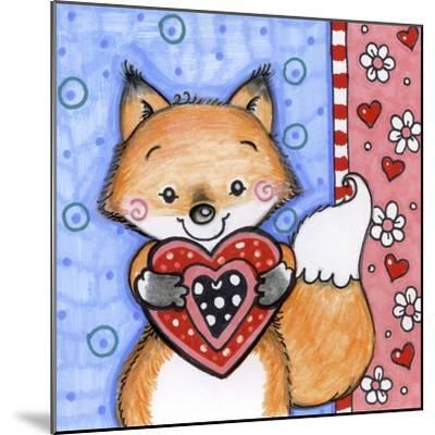 Foxy-Valarie Wade-Mounted Giclee Print