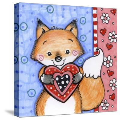 Foxy-Valarie Wade-Stretched Canvas Print