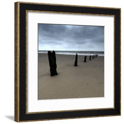 Seascape 01-Tom Quartermaine-Framed Giclee Print