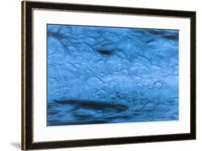 Giant Blue Bubbles-Anthony Paladino-Framed Giclee Print