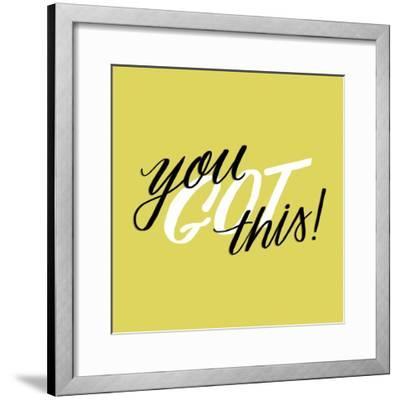 You Got This-Ashley Santoro-Framed Giclee Print