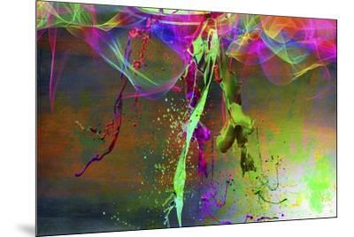 Color Explosion V7-Ata Alishahi-Mounted Giclee Print