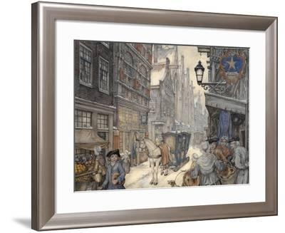 PD 321-Anton Pieck-Framed Giclee Print
