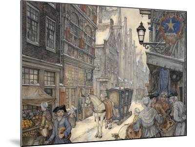 PD 321-Anton Pieck-Mounted Giclee Print