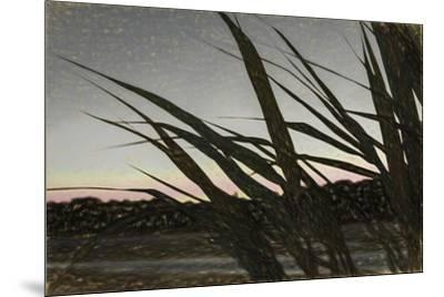 Liquid Pencil Drawing Giant Reeds After Sunset-Anthony Paladino-Mounted Giclee Print