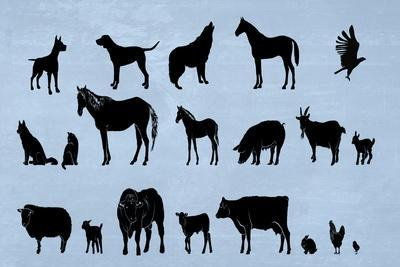Animal Kingdom-Ata Alishahi-Framed Giclee Print