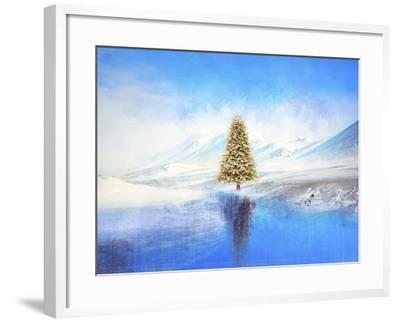 Winter And Christmas Tree-Ata Alishahi-Framed Giclee Print