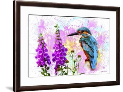 Bird Collection 40SEP2-Ata Alishahi-Framed Giclee Print