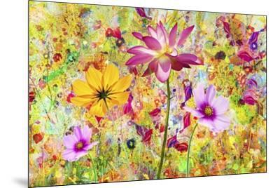 Flower Art A9-Ata Alishahi-Mounted Giclee Print