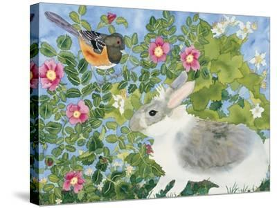 Bunny with Towee-Carissa Luminess-Stretched Canvas Print