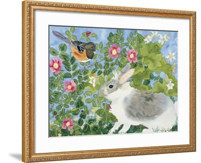 Bunny with Towee-Carissa Luminess-Framed Giclee Print