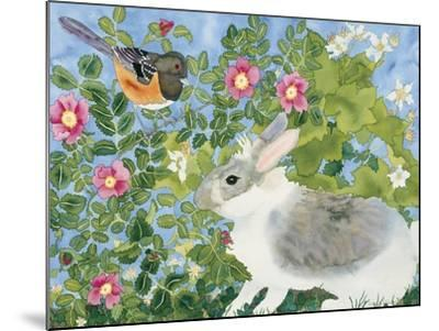 Bunny with Towee-Carissa Luminess-Mounted Giclee Print