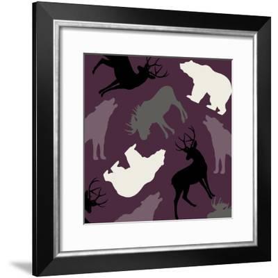 Animal Crackers IV-Color Bakery-Framed Giclee Print