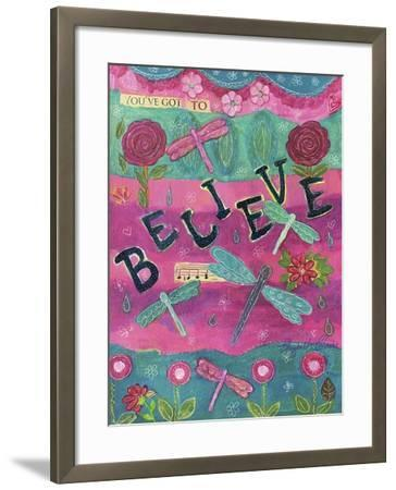 119-Believe-Elizabeth Claire-Framed Giclee Print