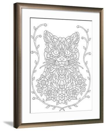Blooming Animals 21-Filippo Cardu-Framed Giclee Print