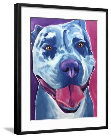 Pit Bull - Merle-Dawgart-Framed Giclee Print