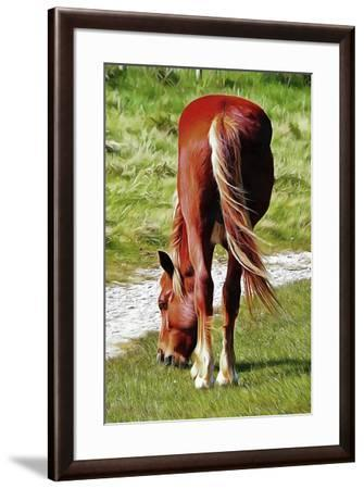Graceful Grazing-Dorothy Berry-Lound-Framed Giclee Print