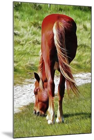 Graceful Grazing-Dorothy Berry-Lound-Mounted Giclee Print