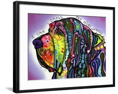 I Can Smell (Bloodhound)-Dean Russo-Framed Giclee Print