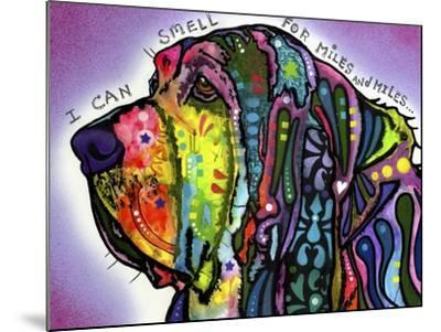 I Can Smell (Bloodhound)-Dean Russo-Mounted Giclee Print