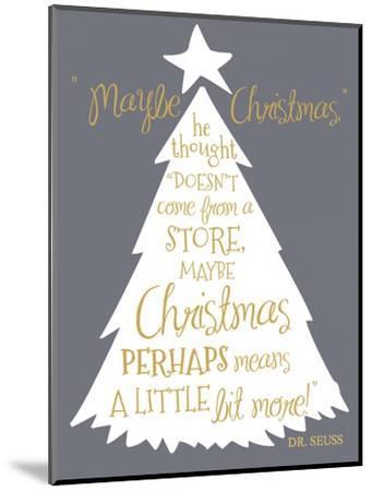 Maybe Christmas-Erin Clark-Mounted Giclee Print