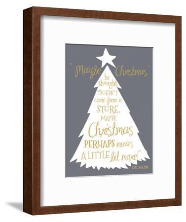 Maybe Christmas-Erin Clark-Framed Giclee Print