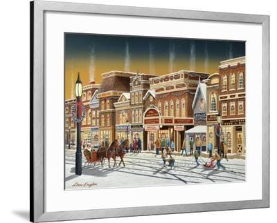 Hometown Christmas-Don Engler-Framed Giclee Print