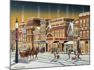 Hometown Christmas-Don Engler-Mounted Giclee Print