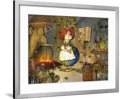Is this Right Spell-Francois Ruyer-Framed Giclee Print