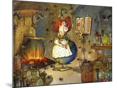Is this Right Spell-Francois Ruyer-Mounted Giclee Print